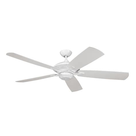 ceiling fans without lights ceiling fan without light in white finish 5cy60wh