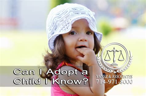 what should i about adoptions in orange county 917 | Can I Adopt a Child I Know