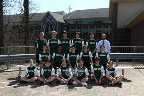 saint john paul great catholic high school boys varsity tennis
