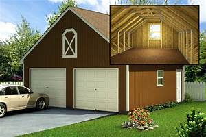 custom building package kits two car garages With 2 5 car garage kits