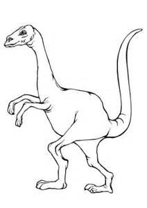 ausmalbilder dino im gehen tiere zum ausmalen