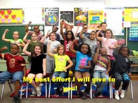 Ms Mulligan's Third Grade Class And Their Oaa Song Youtube