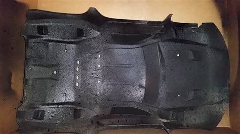 Losi Ten-scte Old Pro-line Body Coated With 3m Rubberized