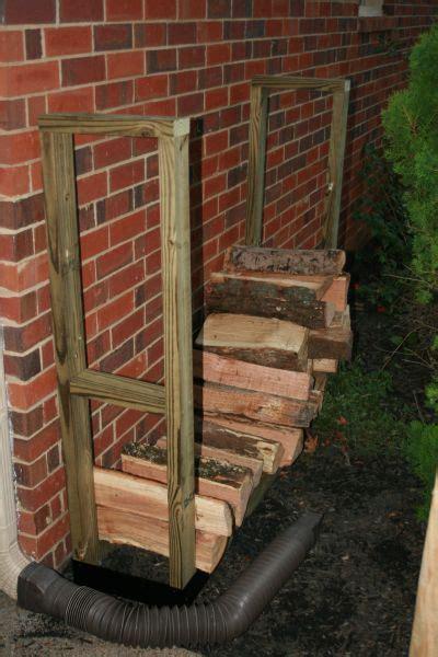 tips  storing firewood   firewood rack