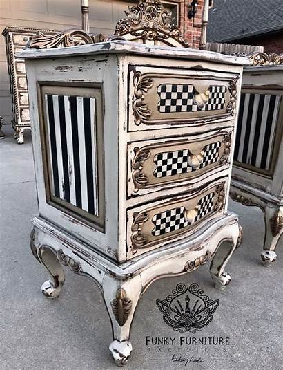 Furniture Funky Painted French Whimsical Mobili Provincial