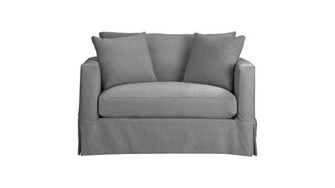 twin sleeper sofa mattress willow grey twin sofa sleeper with air mattress crate