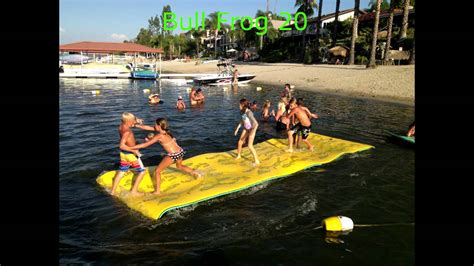 Lily Pads For Boats by Official Aqualily Pad Video Youtube