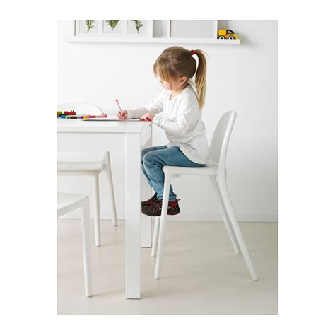 chaise junior junior chair white ikea