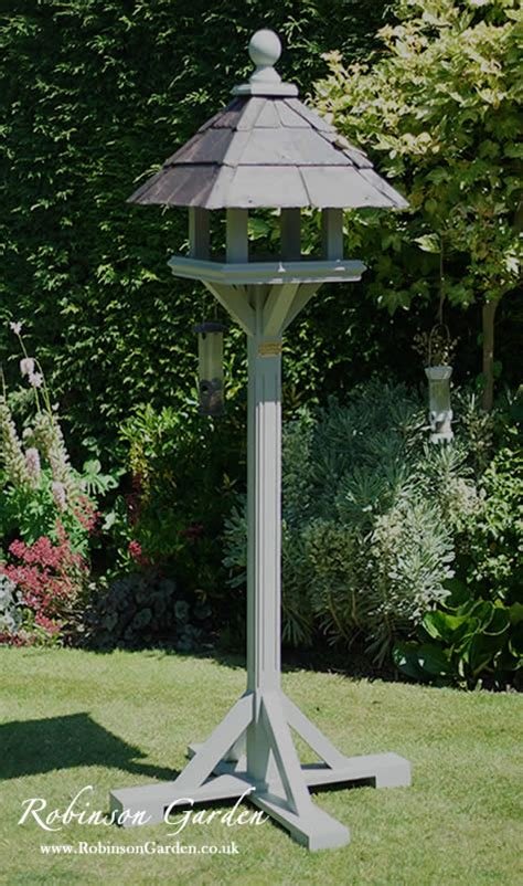 robinson garden bespoke bird table  bird houses