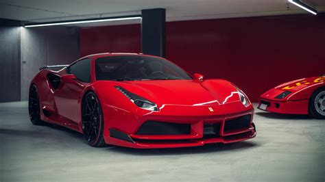 Novitec N Largo Ferrari 488 Gtb 6 Wallpaper Hd Car