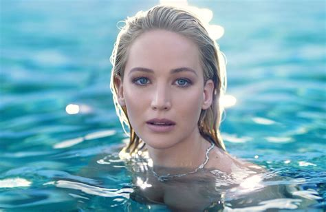 Jennifer Lawrence Diors New Fragrance Joy 2018