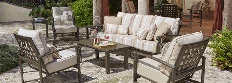 woodard spartan cast aluminum outdoor furniture collection