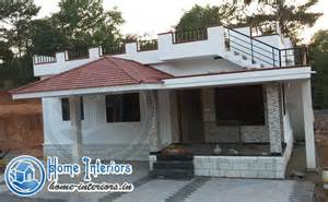 918 sq ft beautiful low budget home design