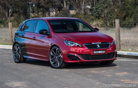 peugeot gti 2016 peugeot 308 gti 270 review video performancedrive