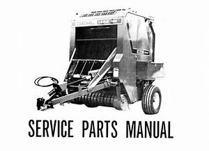 Gehl 1465 Variable Chamber Round Baler Service Parts