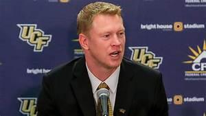 UCF Knights head coach Scott Frost -- FOX Sports Florida ...