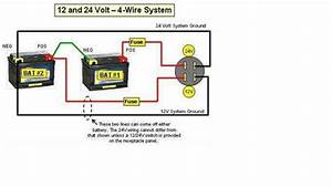 Solved  What Size Cable To Connect Two 12 Volt Batteries