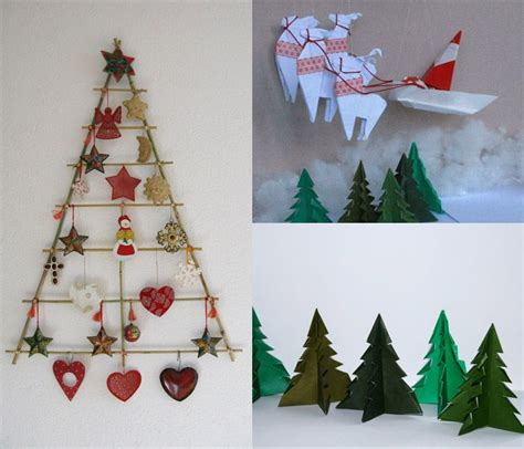 homemade christmas wall decorations rake christmas tree craft ideas pinterest