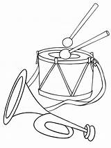 Drum Coloring Pages Printable Mycoloring sketch template