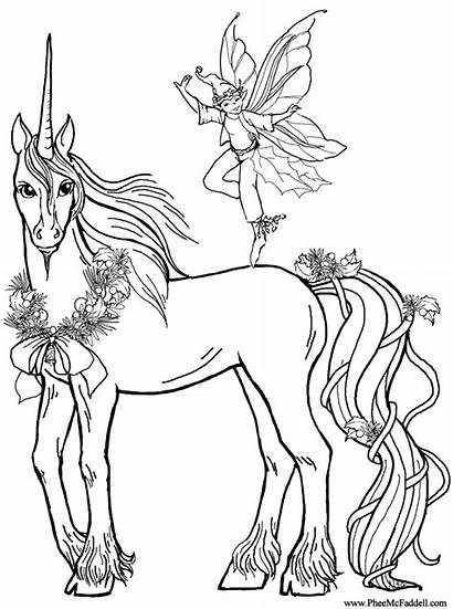 Coloring Pages Unicorn Unicorns Sheet Colouring Printable