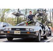 DeLorean Display Highlights Final 'Cars & Coffee' Of The