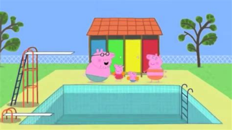 Peppa Pig Arabic Swimming السباحة Youtube Mp4