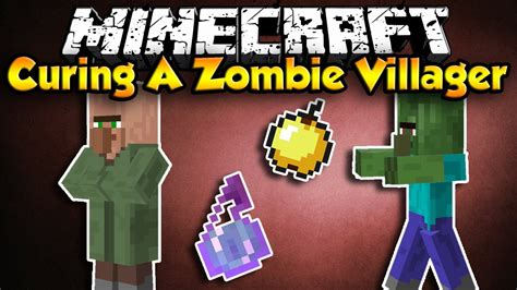 zombie villager minecraft cure villagers hd