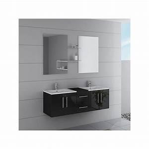 Meuble De Salle De Bain Solde : meuble double vasque ref dis1500n ~ Teatrodelosmanantiales.com Idées de Décoration
