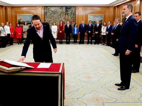 22 ministros asumen sus cargos este lunes en España ...
