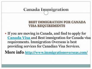 best immigration for canada visa requirements With passport travel to canada requirements
