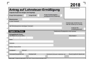 Steuererklärung Online Ausfüllen : formular lohnsteuererm igung lst3 2018 als download ~ Frokenaadalensverden.com Haus und Dekorationen