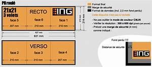 Dépliants A4 carrés 21 x 21 3 volets 2 plis 250g/m²
