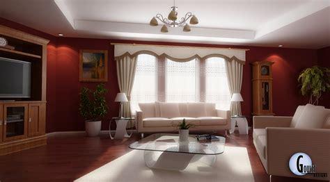 White Living Room Design - Minimalist Home Design