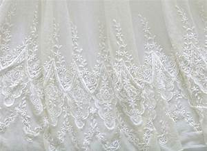 white bridal lace fabric by the yard wedding dress by With wedding dress fabric