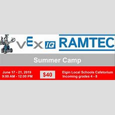 Vex Iqramtec Summer Camp June 1721  Tririvers Career Center & Center For Adult Education