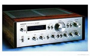 Pioneer Sa-8800 - Manual