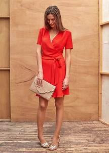 Robe Rouge Mariage Invité : s zane robe rossini fashion robe rouge robe corail mariage et robe ~ Farleysfitness.com Idées de Décoration
