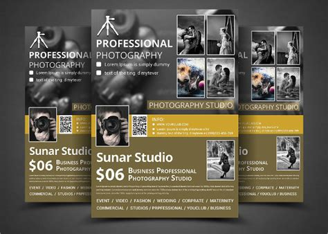 photography flyer designs examples psd ai eps