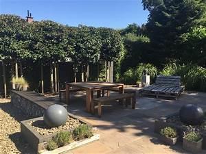 Sichtschutzpflanzen Für Terrasse : einfach nur sch n terrasse aus naturstein sichtschutz mit pflanzen in velbert klo garten ~ Indierocktalk.com Haus und Dekorationen
