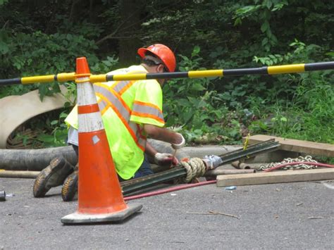Soapstone Dc by Soapstone Creek Sewer Leak In Area Slated For