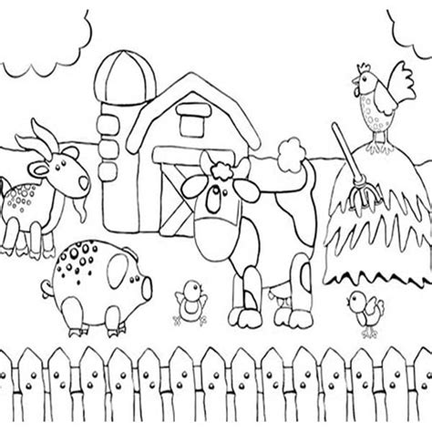 pictures farm drawing  kids drawings art gallery