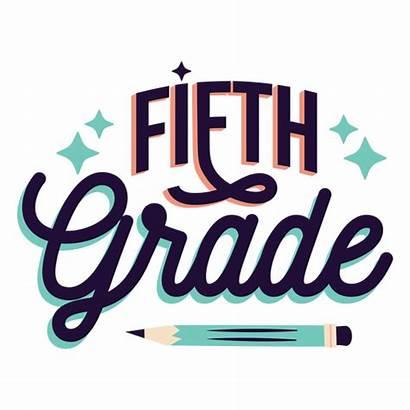 Grade Fifth Quinto Grado Sticker Badge Insignia