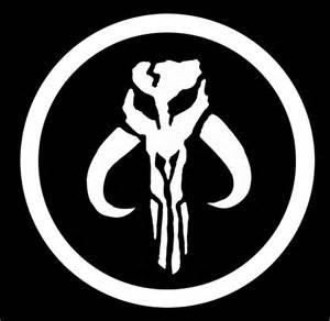 Mandalorian Symbol Boba Fett Crest