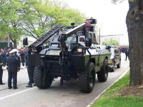 Cleveland Police Swat Vehicle