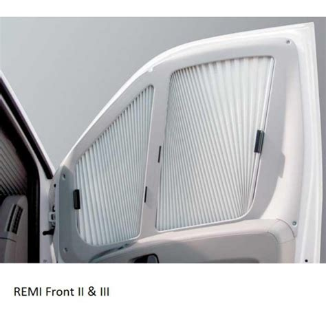 remis remi front rideau isolant fixe  master camping car