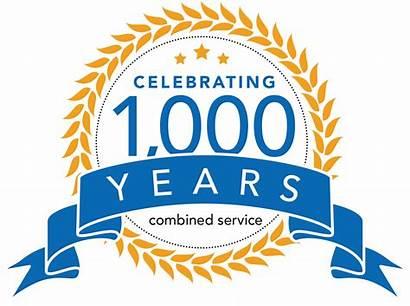 1000 Celebrating Service 1000years