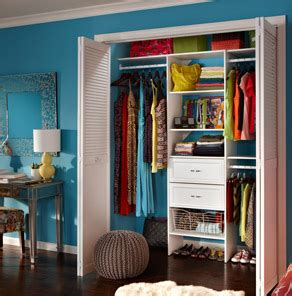 organize your closet and get more storage space at the