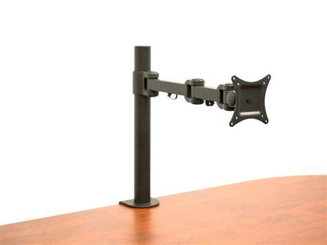 28 deskmounts luxor lcd monitor desk mount silver