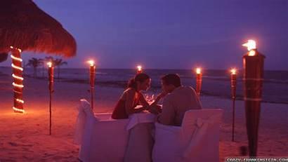 Romantic Beach Wallpapers Night Frankenstein Crazy Dinner