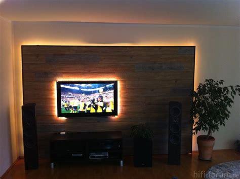 Fernsehwand Mit Beleuchtung by Die Besten 25 Tv Wand Led Ideen Auf Lcd Tv